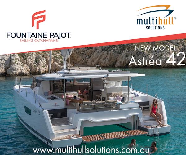 Multihull Solutions Astrea 42 July 2018 - 600x500