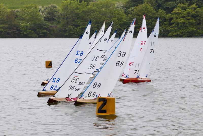 Scottish District IOM Wooden Hull Championship at Kinghorn Loch