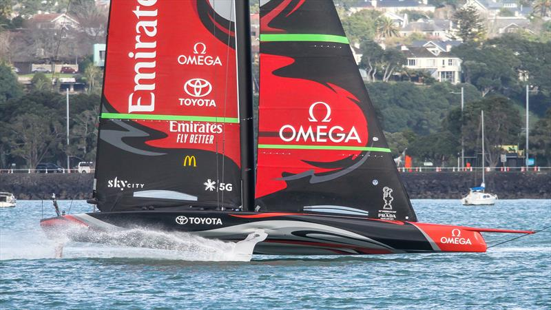 Emirates Team NZ - Te Aihe - Auckland - July 9, 2020 - photo © Richard Gladwell / Sail-World.com