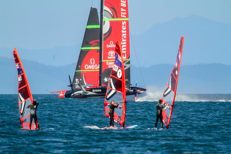 Emirates Team New Zealand - Waitemata Harbour - August 28, 2020 - 36th America's Cup - photo © Richard Gladwell / Sail-World.com