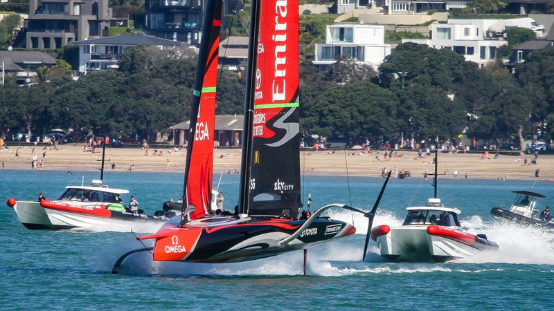 Te Aihe, Emirates Team New Zealand - October 05, 2020 - Waitemata Harbour - America's Cup 36 - photo © Richard Gladwell / Sail-World.com