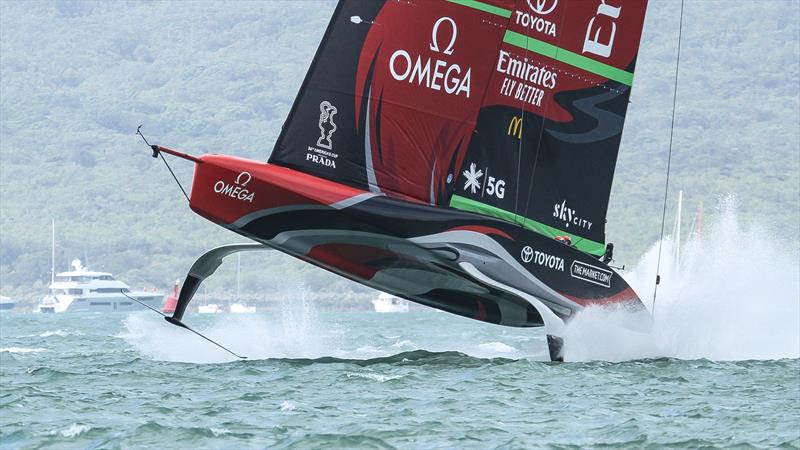 Te Rehutai, Emirates Team New Zealand - December 18, 2020 - Waitemata Harbour - America's Cup 36 - photo © Richard Gladwell / Sail-World.com