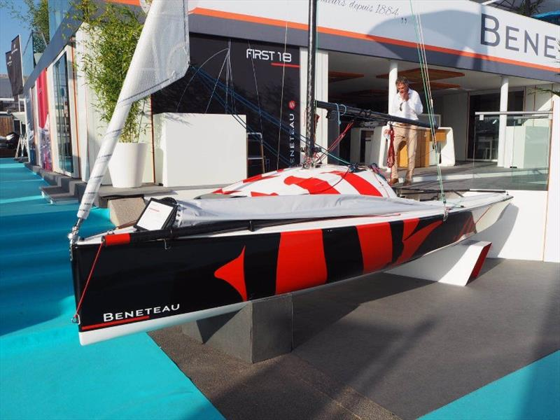 The First 18 at 2018 Cannes Yachting Festival - photo © Beneteau