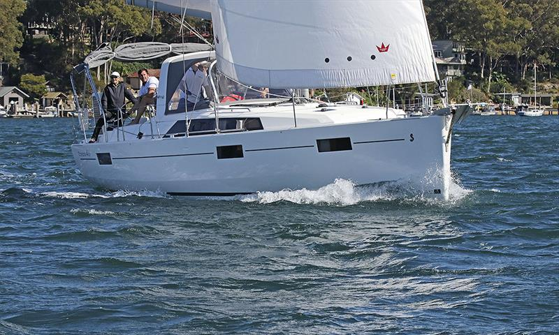 The as yet unnamed Oceanis 41.1 belonging to Stephen and Lyn Coleman. - photo © John Curnow