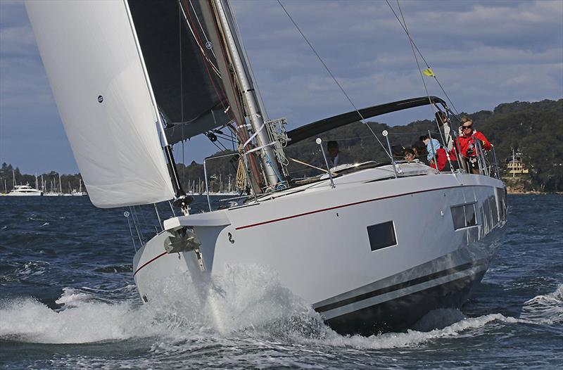 The still quite new Oceanis 51.1, Wilde Rush, which is one powerful vessel. - photo © John Curnow