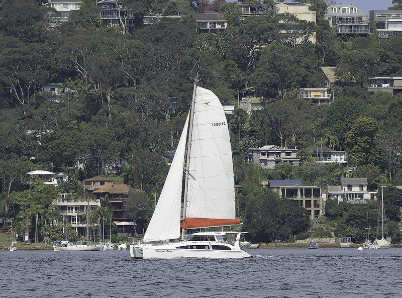 A Seawind 1250 enjoying Pittwater, just North of Sydney, Australia. - photo © John Curnow
