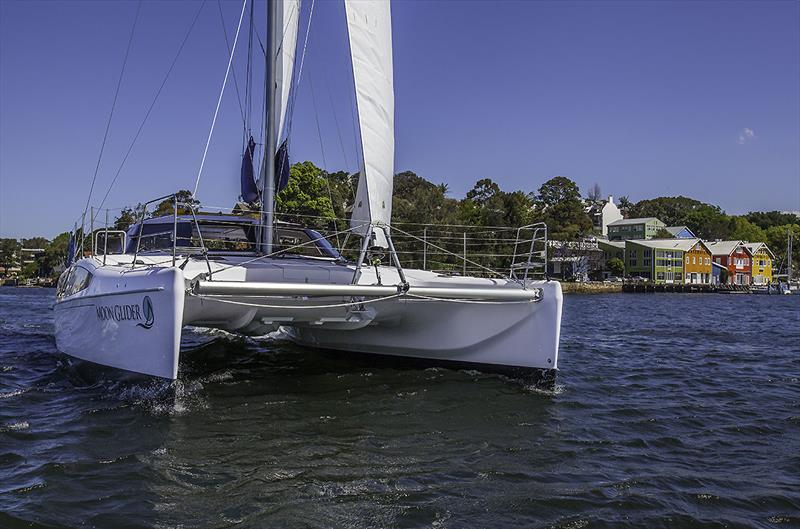 The Seawind 1260 is a stable and capable performer both inshore and off. - photo © John Curnow