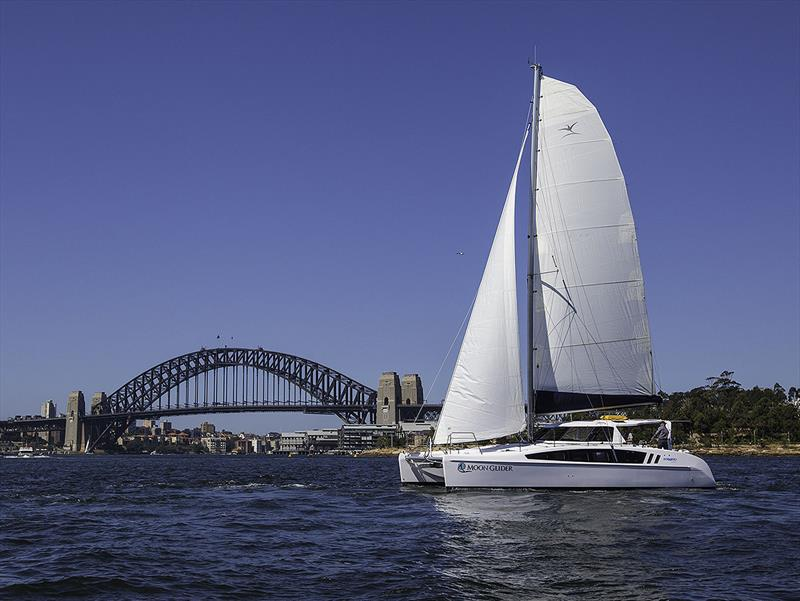 Seawind 1260 on the iconic Sydney Harbour. - photo © John Curnow