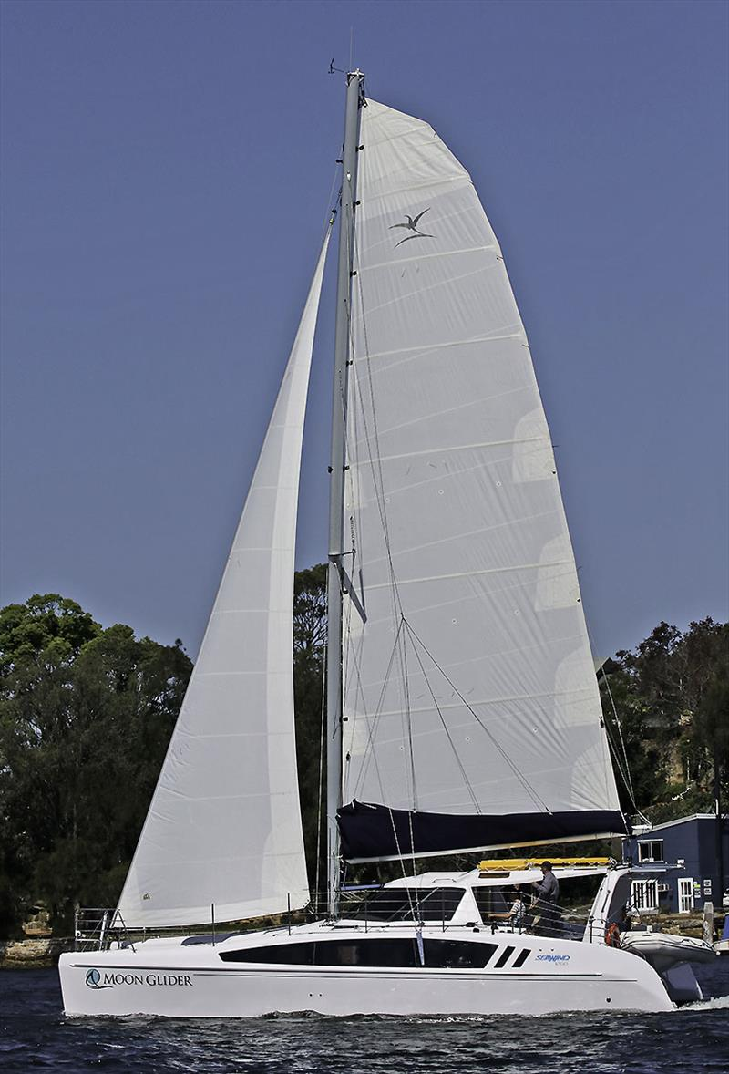 Full sail plan view of the Seawind 1260 - photo © John Curnow