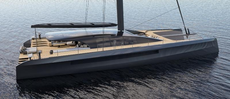 BlackCat 30 metre design - photo © BlackCat Superyachts