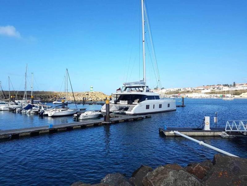 Sunreef 80 Bundalong at Portugal marina - photo © Sunreef Yachts