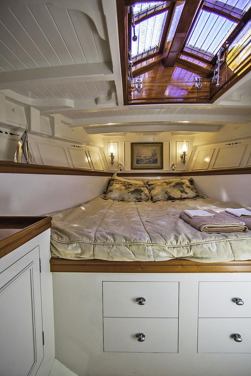 Owner's Stateroom of Hurrica V - photo © Jack Murphy