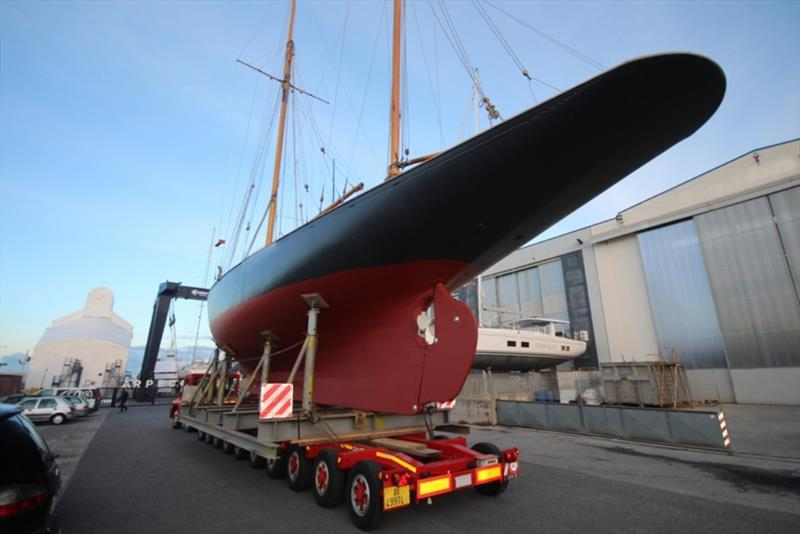 The great return of vintage yacht Tirrenia II - photo © Paolo Maccione
