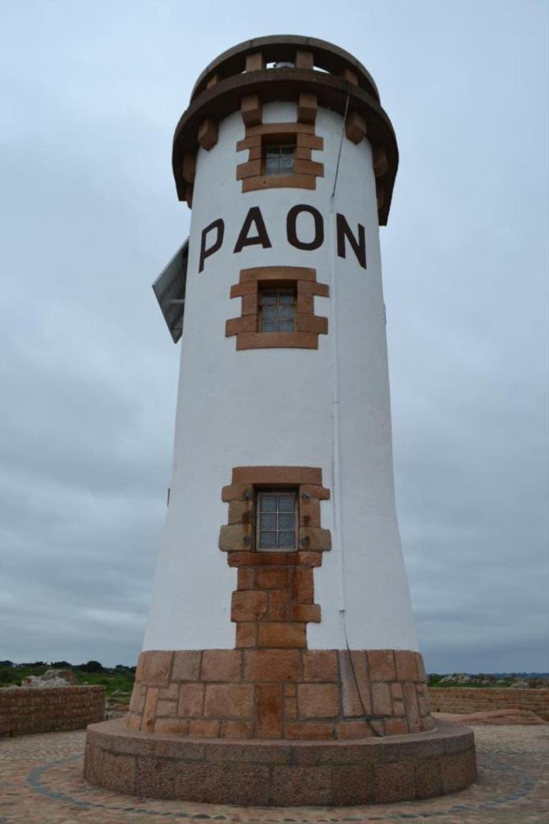 Paon Lighthouse at the North of the Island - photo © SV Red Roo