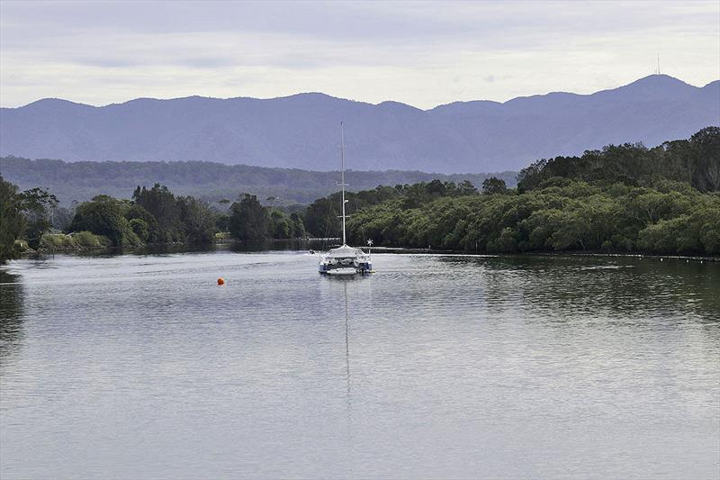 Catamaran up a river in NSW, Australia. - photo © John Curnow