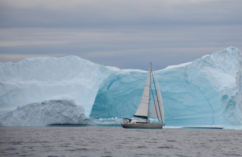 Aventura, is a 13.50m aluminium yacht incorporating some unique features never seen in a yacht of this type before, pictured here in the Northwest Passage - photo © The Cruising Association