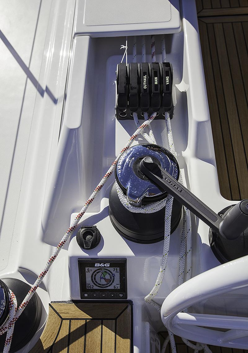 Bavaria C45 - All control lines to the helm positions and terrific B&G wind displays - photo © John Curnow