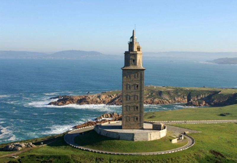 Tower of Hercules - photo © SV Red Roo
