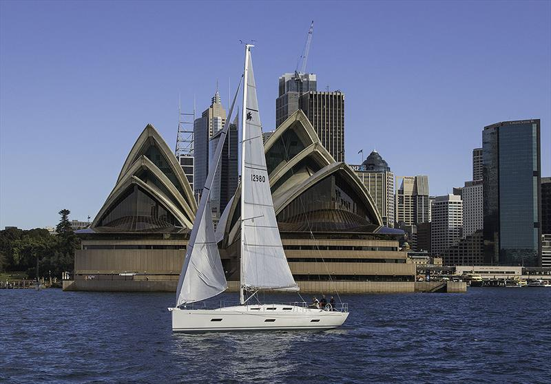 The totally enjoyable Italia Yachts 12.98 on Sydney Harbour. - photo © John Curnow