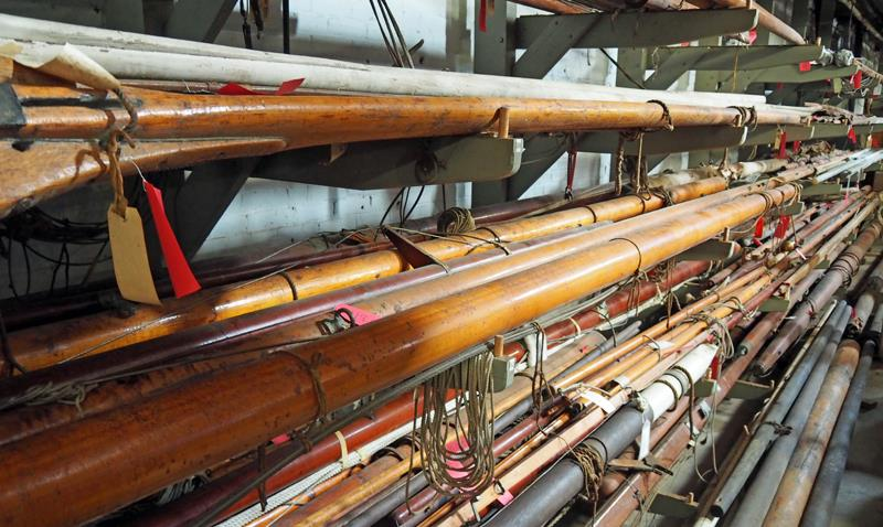 A massive collection of spars - photo © SV Crystal Blues