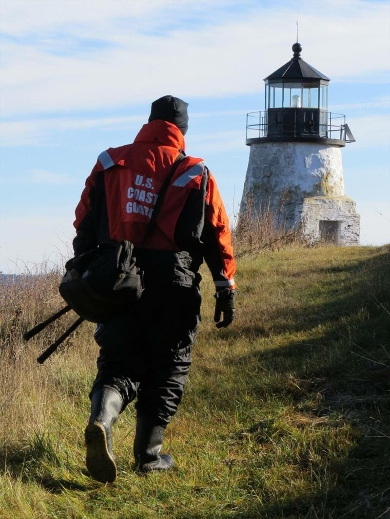Maine lighthouse - photo © U.S. Coast Guard 1st District Northeast