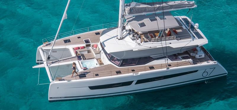 The new Fountaine Pajot Alegria 67 - photo © Multihull Solutions