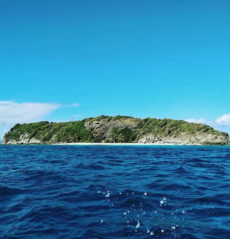The uninhabited island of Jamesby - photo © Mission Ocean