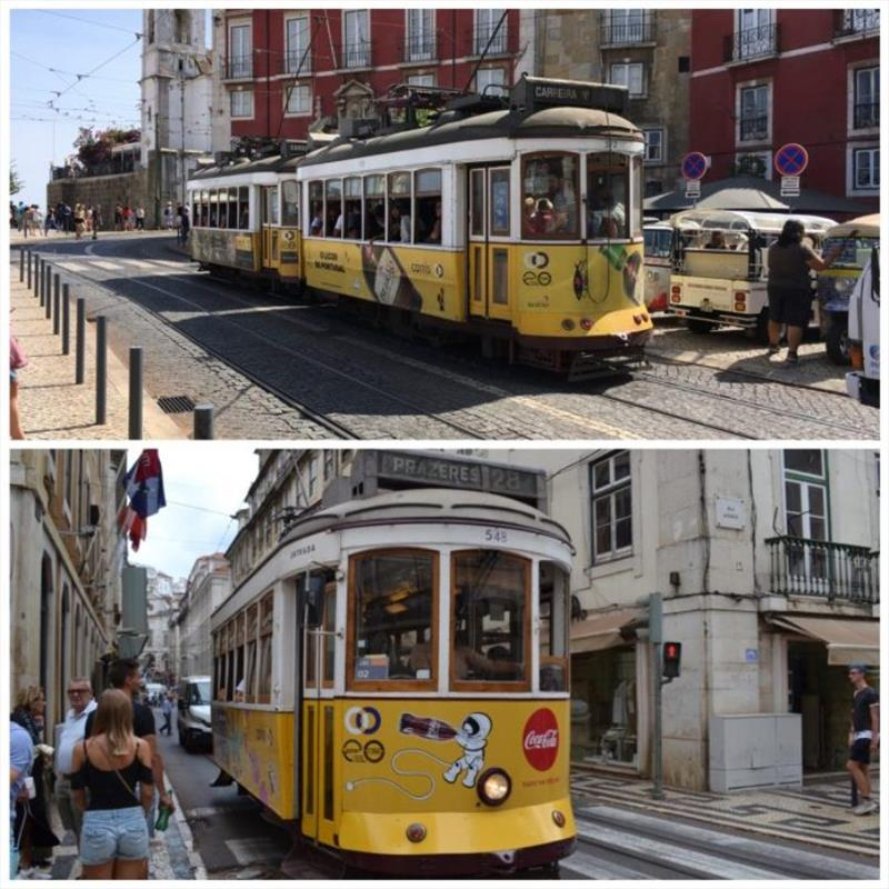 Lisbon Trams - photo © SV Red Roo