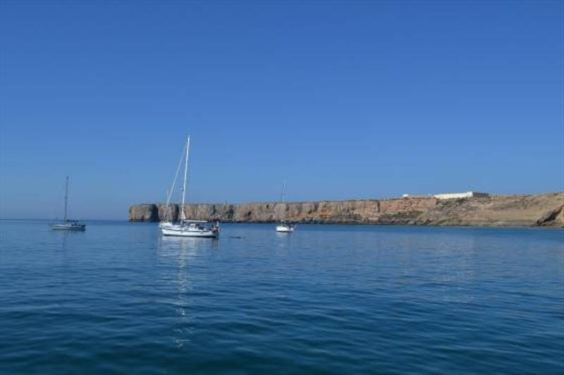 Sagres Anchorage - photo © SV Red Roo