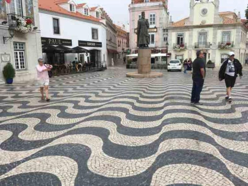 Portuguese Pavers - Cascais - photo © SV Red Roo