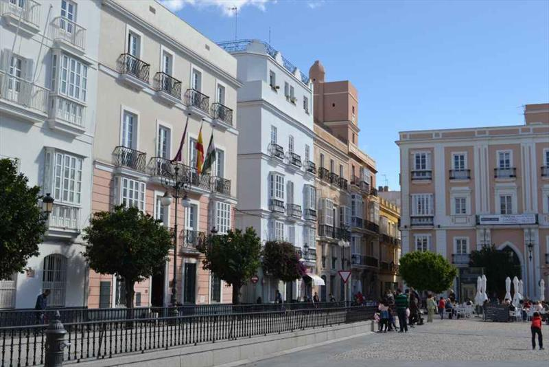 The streets of Cadiz photo copyright SV Red Roo taken at  and featuring the Cruising Yacht class
