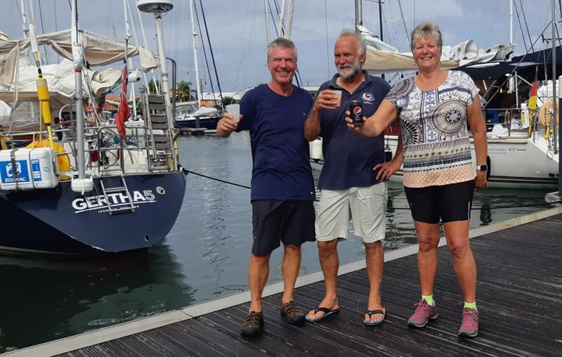 ARC  2018 - Gertha 5 Crew photo copyright World Cruising taken at  and featuring the Cruising Yacht class