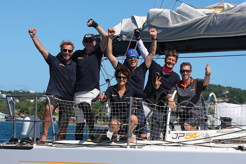 Congratulations to skipper JP Dick and the crew of 'The Kid' - ARC 2018 - photo © Tim Wright