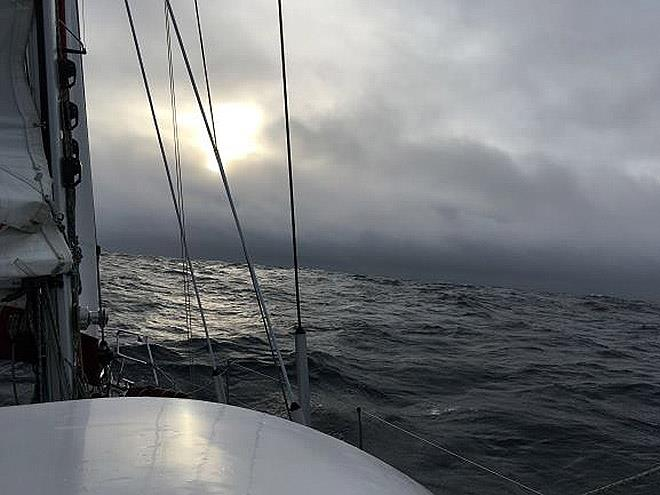 S/V Nereida sails around the world - Day 72 - Jeanne Socrates under way again - photo © Jeanne Socrates