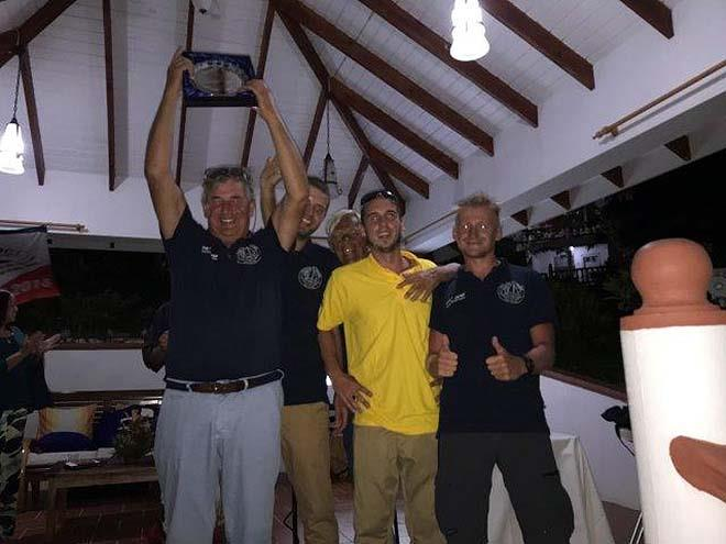 2018 ARC plus St. Vincent - PrizeGiving - Spirit Of The ARC Sancta Anna - photo © World Cruising
