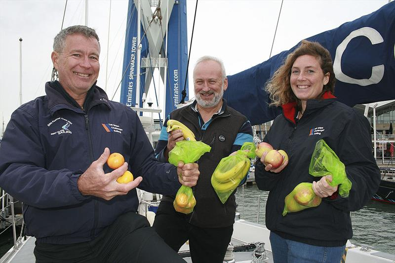 Fruit Preserving First Class Sailing - Skipper Ricky Chalmers left - photo © Xan Phillips