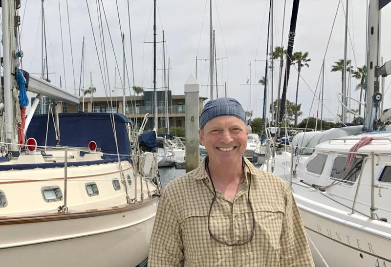 Doug Smith photo copyright Daria Blackwell taken at  and featuring the Cruising Yacht class