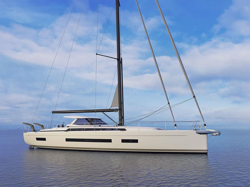 The new Amel 60 photo copyright Berret-Racoupeau Yacht Design taken at  and featuring the Cruising Yacht class