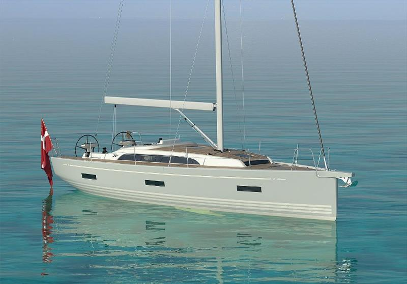 X4.0 Render photo copyright X-Yachts taken at  and featuring the Cruising Yacht class