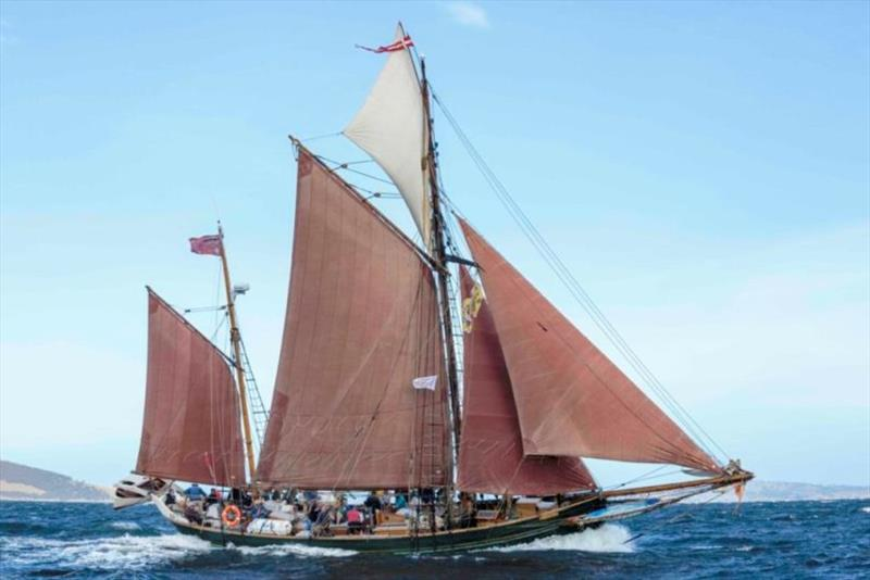 The Danish ketch Yukon photo copyright Rob Oates / Ballantyne Photography taken at  and featuring the Cruising Yacht class