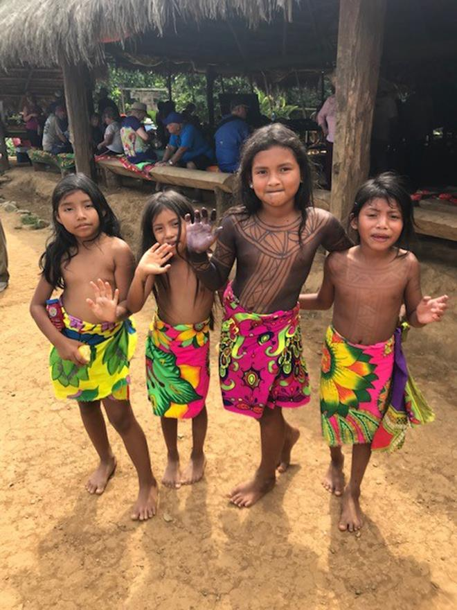 World ARC 2019-20 - Embera Village - photo © World Cruising