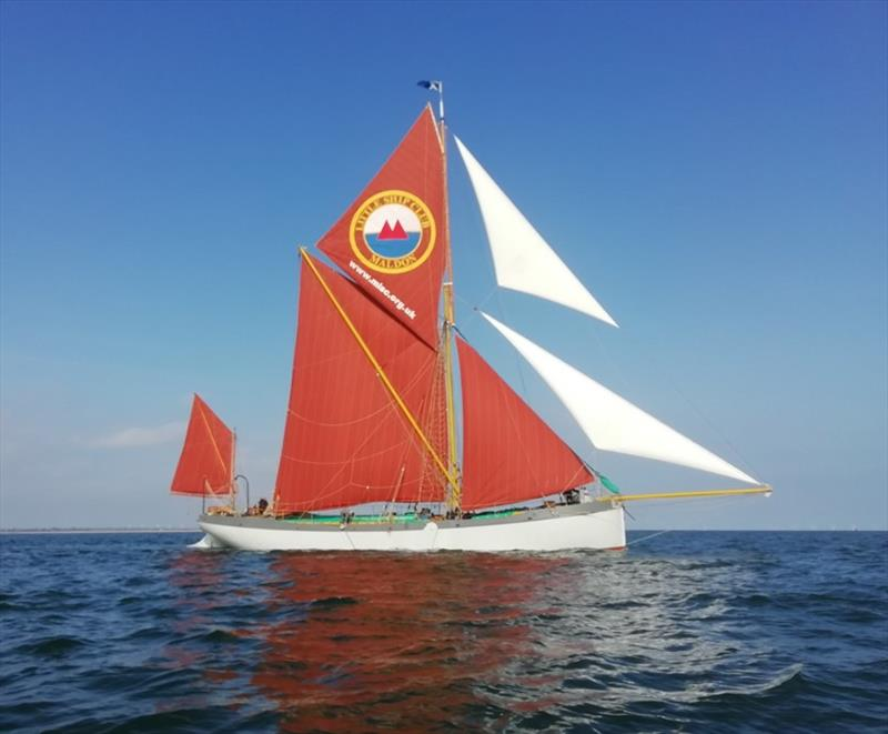 Blue Mermaid first sail photo copyright Steve Hunt taken at  and featuring the Cruising Yacht class