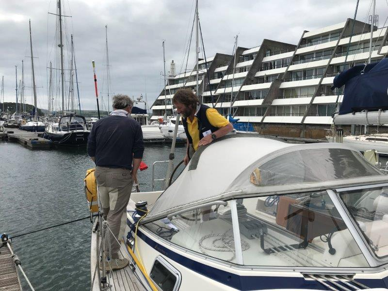 2019 ARC Portugal - Safety Inspection photo copyright World Cruising taken at  and featuring the Cruising Yacht class