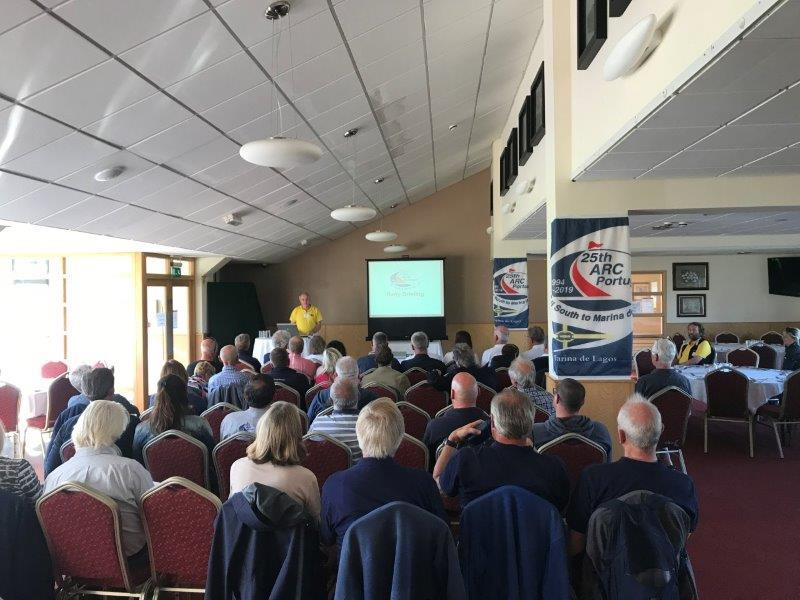 2019 ARC Portugal - Rally briefing photo copyright World Cruising taken at  and featuring the Cruising Yacht class