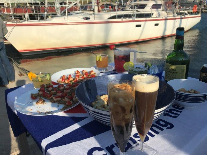 2019 ARC Baltic - Dockside Cocktails photo copyright World Cruising taken at  and featuring the Cruising Yacht class