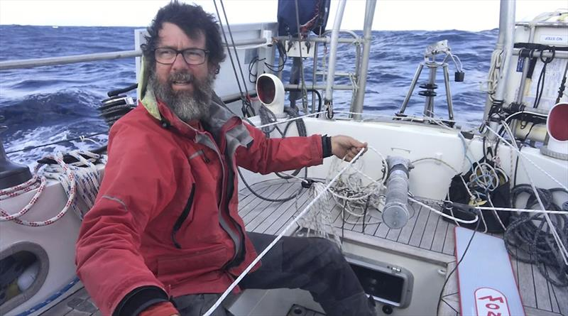 In the cockpit of Moli photo copyright Randall Reeves taken at  and featuring the Cruising Yacht class