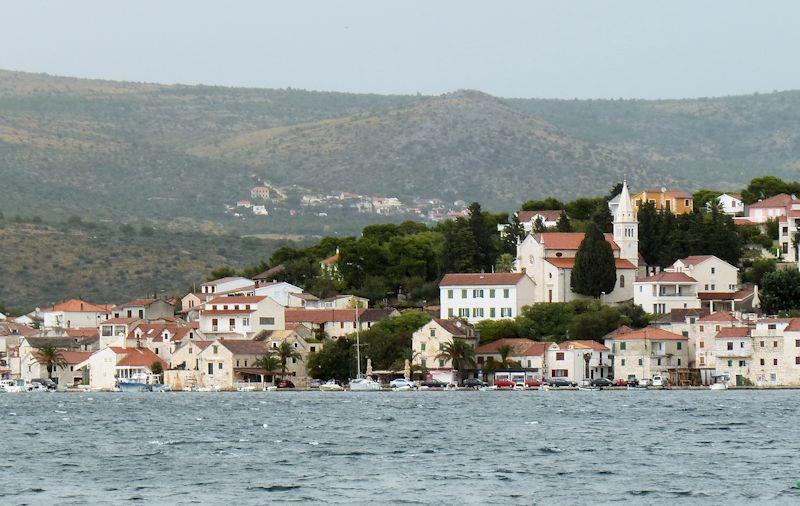 Cruising in Croatia - Rogoznica town photo copyright Liz Potter taken at  and featuring the Cruising Yacht class
