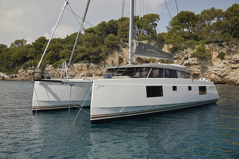 Nautitech 46 photo copyright Romero Jean Francois taken at  and featuring the Cruising Yacht class