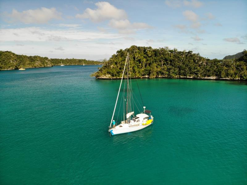Finding Fiji photo copyright Henk and Lisa Benckhuysen taken at  and featuring the Cruising Yacht class