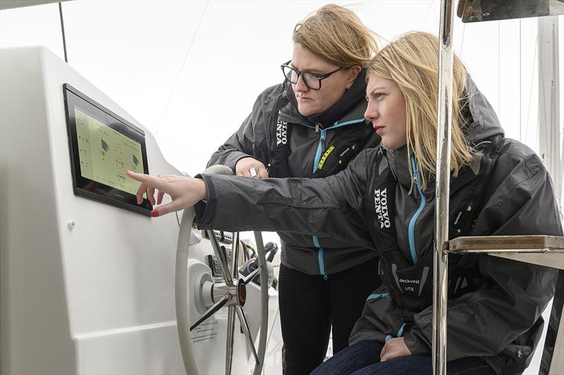 More than 100 customers guide Volvo Penta's electric driver interface concept development photo copyright Olivier Blanchet taken at  and featuring the Cruising Yacht class